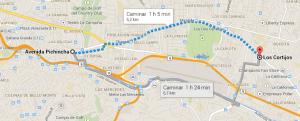 Mi ruta a casa